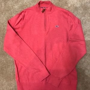 Vineyard Vines 1/4 zip sweater - size L (12-14)